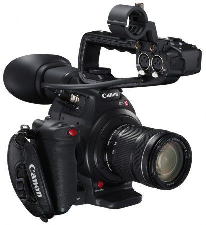 Canon EOS C100 mark II + EF-S 18-135mm / 3.5-5.6 IS STM + ajándék*