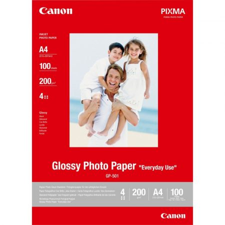 """Canon Glossy Photo Paper GP-501 """"Everyday Use"""" (A4)"""