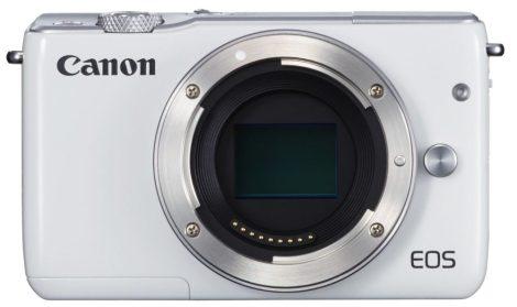 Canon EOS M10 váz, fehér színű - 3 év garanciával**