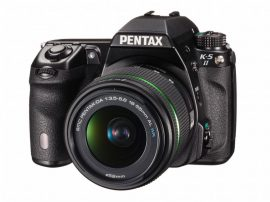 Pentax K-5 II váz + SMC DA 18-55mm / 3.5-5.6 AL WR objektív
