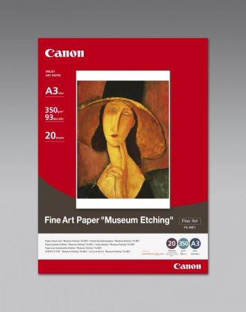 "Canon Fine Art Paper FA-ME1 (A3) ""Museum Etching"""