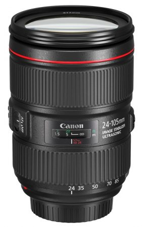 Canon EF 24-105mm / 4 L IS USM mark II - 3 év garanciával**