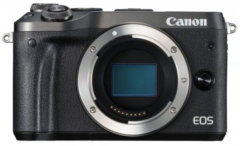 Canon EOS M6 váz, fekete színű - 3 év garanciával **