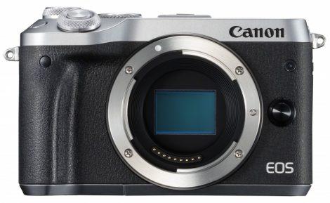 Canon EOS M6 váz, ezüst színű - 3 év garanciával**