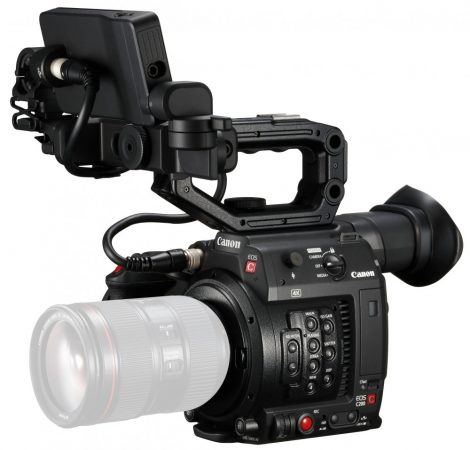 Canon EOS C200 (4K) professzionális videokamera