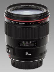 Canon EF 35mm / 1.4 L USM