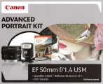 Canon EF 50mm / 1.4 USM Advanced Portrait KIT