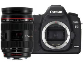 Canon EOS 5D mark II + EF 24-70mm / 2.8 L USM