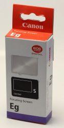 Canon Eg-S mattüveg (dobozos)