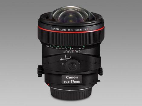 Canon TS-E 17mm /4.0 L - 3 év garanciával**
