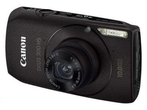Canon Ixus 300HS (fekete)