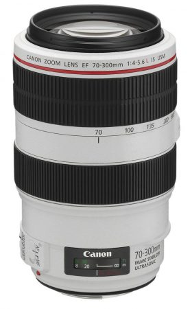 Canon EF 70-300mm / 4.0-5.6 L IS USM - 3 év garanciával**