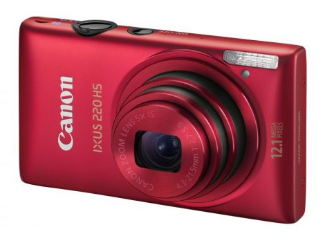 Canon Ixus 220HS (3 színben) (piros)