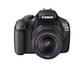 Canon EOS 1100D + EF-S 18-55mm / 3.5-5.6 IS II (4 színben) (fekete)