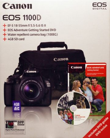 Canon EOS 1100D + EF-S 18-55mm / 3.5-5.6 IS II KIT