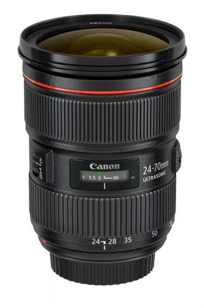 Canon EF 24-70mm / 2.8 L USM mark II - 3 év garanciával**
