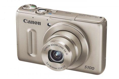 Canon PowerShot S100 (GPS) (2 színben) (ezüst)