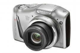 Canon PowerShot SX150IS (3 színben) (ezüst)