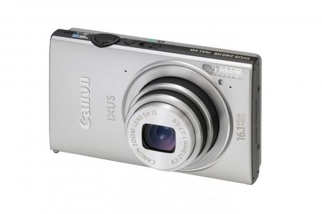 Canon Ixus 240HS (Wi-Fi) (3 színben) (ezüst)