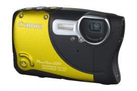 Canon PowerShot D20 (GPS) (3 színben) (sárga)
