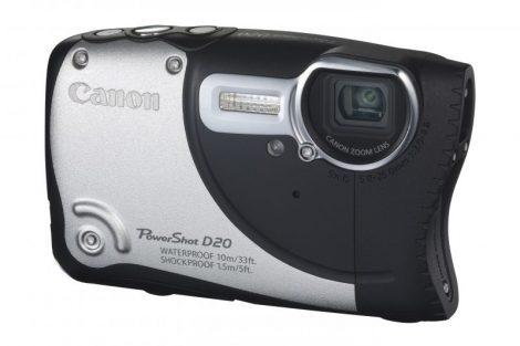 Canon PowerShot D20 (GPS) (3 színben) (ezüst)