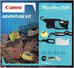Canon PowerShot D20 (GPS) (3 színben) (ezüst) Adventure KIT
