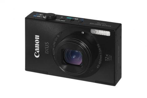 Canon Ixus 500HS (3 színben) (fekete)