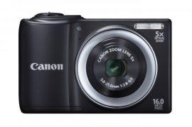 Canon PowerShot A810 (3 színben) (fekete)