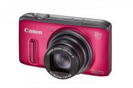 Canon PowerShot SX260HS (GPS) (4 színben) (piros)