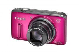 Canon PowerShot SX240HS (3 színben) (rózsaszín)