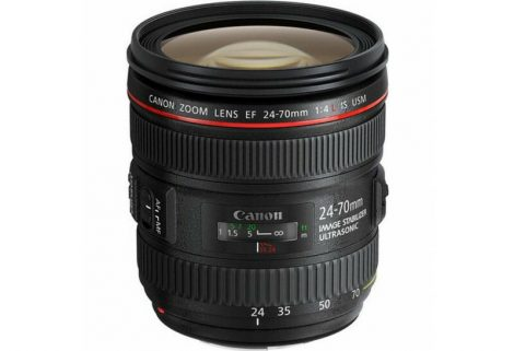 Canon EF 24-70mm / 4 L IS USM - 3 év garanciával**