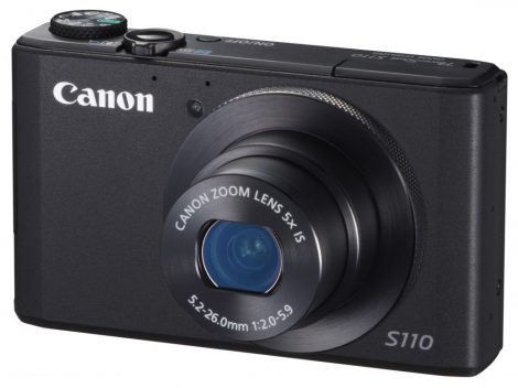 Canon PowerShot S110 (WiFi) (3 színben) (fekete)