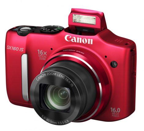 Canon PowerShot SX160is (3 színben) (piros)