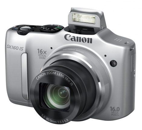 Canon PowerShot SX160is (3 színben) (ezüst)
