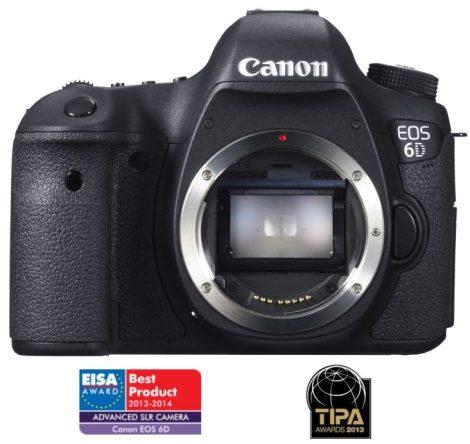 Canon EOS 6D váz (3 év garanciával**) + ajándék*