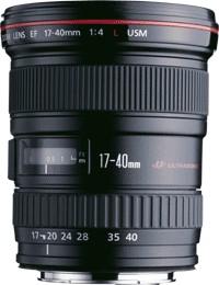 Canon EF 17-40mm / 4.0 L USM - 3 év garanciával**