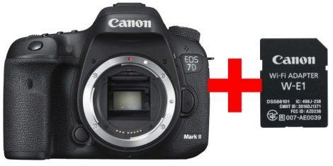Canon EOS 7D mark II váz - 3 év garanciával** + Canon W-E1 wifi adapter