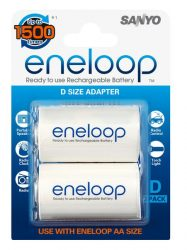 Sanyo eneloop D size adapter