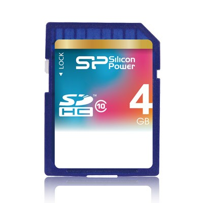 Silicon Power SDHC 4Gb (class 10)