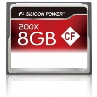 Silicon Power CF 8Gb (200x)