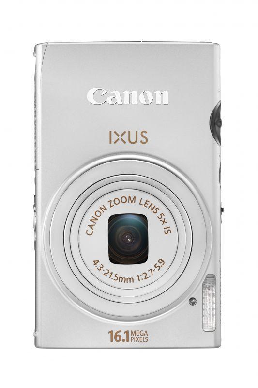 Canon Ixus 125HS (5 színben) (ezüst)
