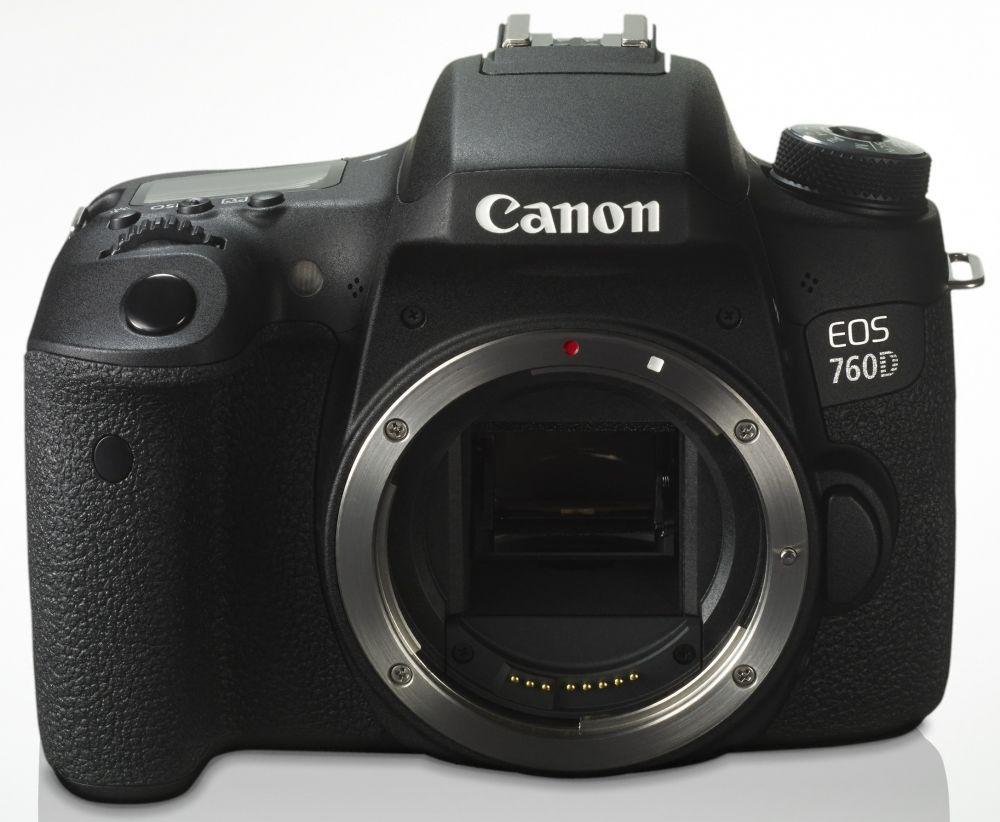 Canon EOS 760D váz (3 év garanciával**)