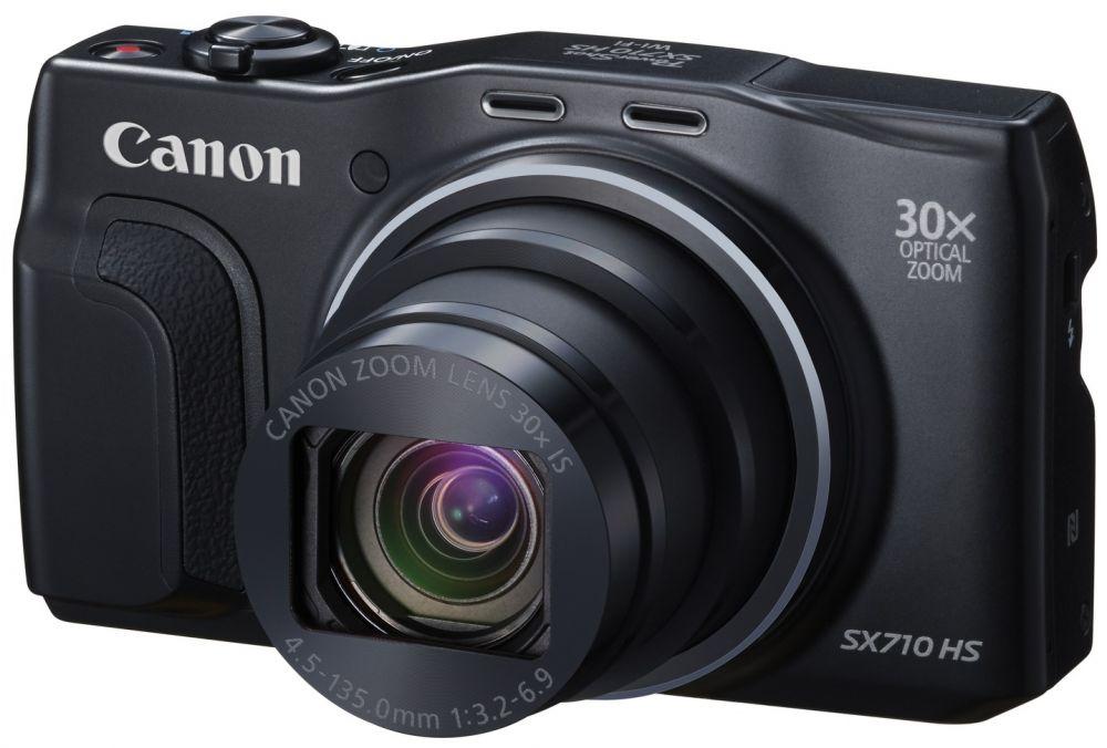 Canon PowerShot SX710HS (2 színben) (fekete) (WiFi + NFC)