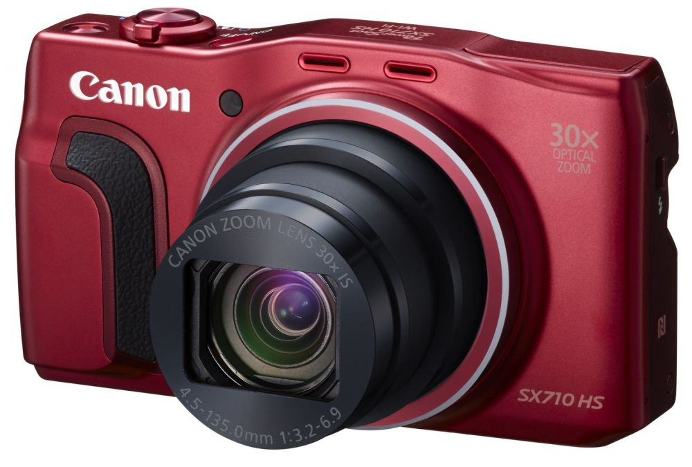 Canon PowerShot SX710HS (2 színben) (piros) (WiFi + NFC)