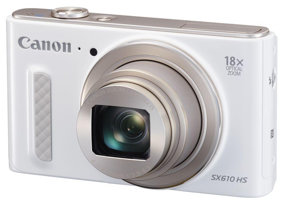Canon PowerShot SX610HS (3 színben) (fehér) (WiFi + NFC)