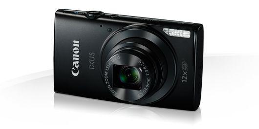 Canon Ixus 170 (3 színben) (fekete)