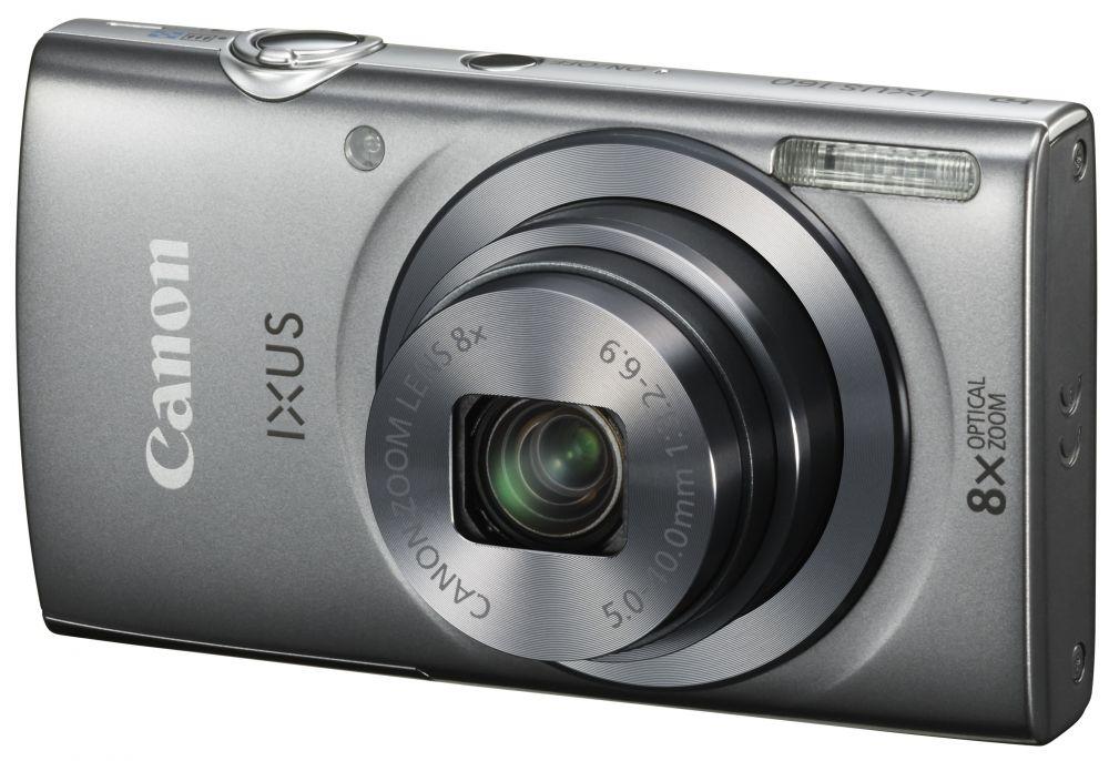 Canon IXUS 160 (4 színben) (ezüst)