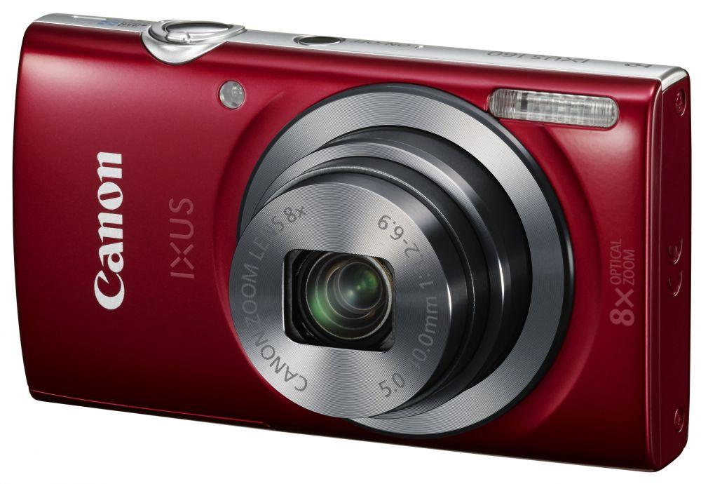 Canon IXUS 160 (4 színben) (piros)