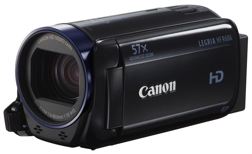 Canon LEGRIA HF R606 (2 színben) (fekete)