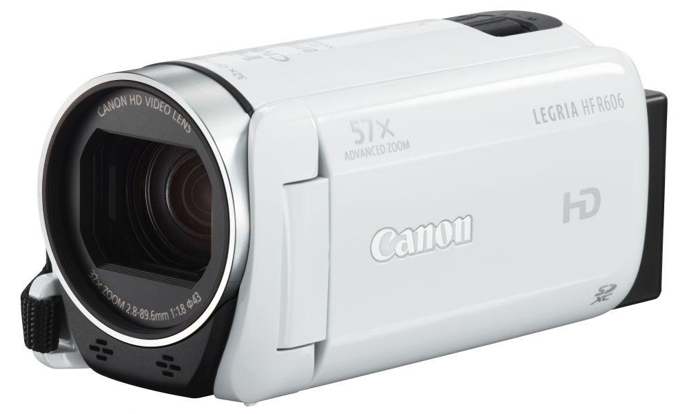 Canon LEGRIA HF R606 (2 színben) (fehér)